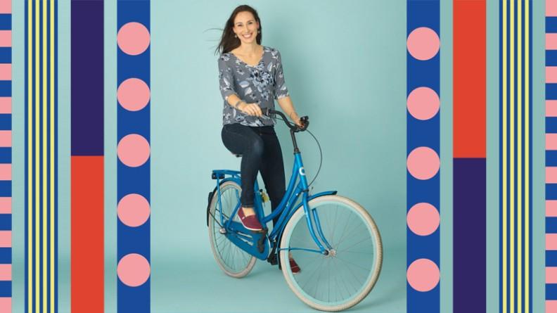 Lees het interview over de fietstocht van Anna Woltz